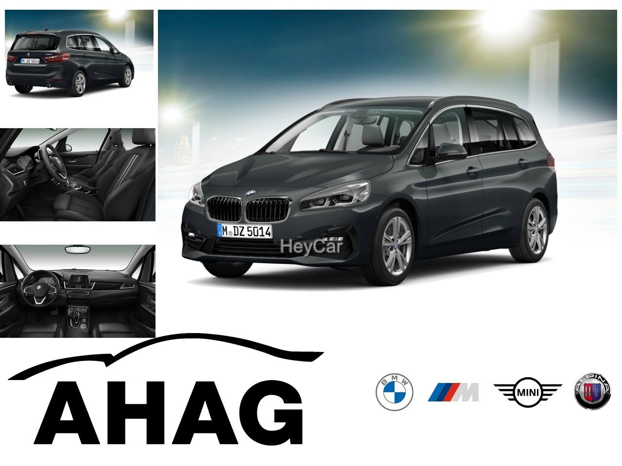 BMW 220 Gran Tourer Steptronic Sport Line Klimaaut., Jahr 2020, Benzin