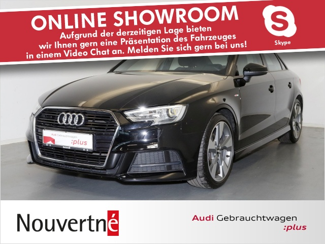 Audi A3 Limousine sport 1.4 TFSI CoD Navi S-Line, Jahr 2017, Benzin