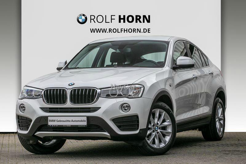 BMW X4 xDrive20d AHK Navi Sitzhzg Autom Xenon EURO 6, Jahr 2014, Diesel