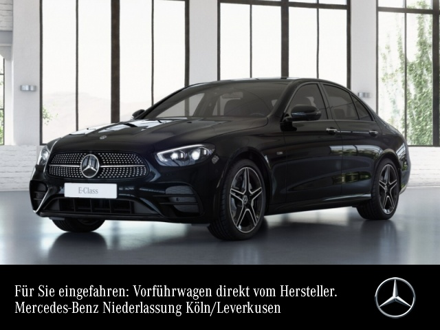 Mercedes-Benz E 300 de AMG+Night+360+MultiBeam+Fahrass+Keyless, Jahr 2020, Hybrid_Diesel