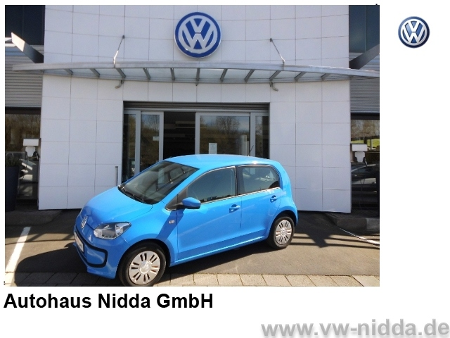 Volkswagen Up move up! 1,0 l. Navigation 4-Türer, Klima, La, Jahr 2016, Benzin