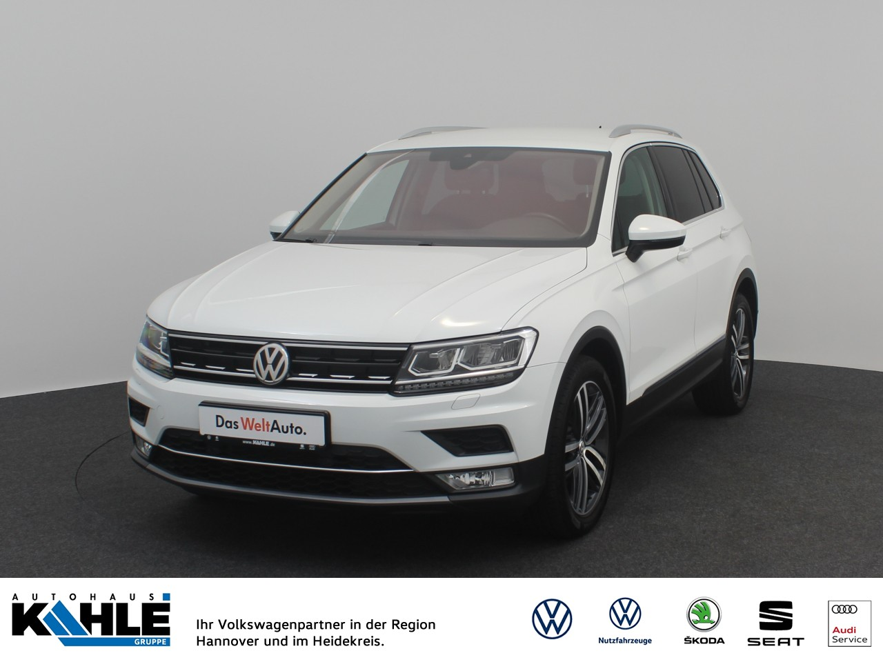 Volkswagen Tiguan 2.0 TDI BMT Highline Navi LED Klima, Jahr 2016, Diesel