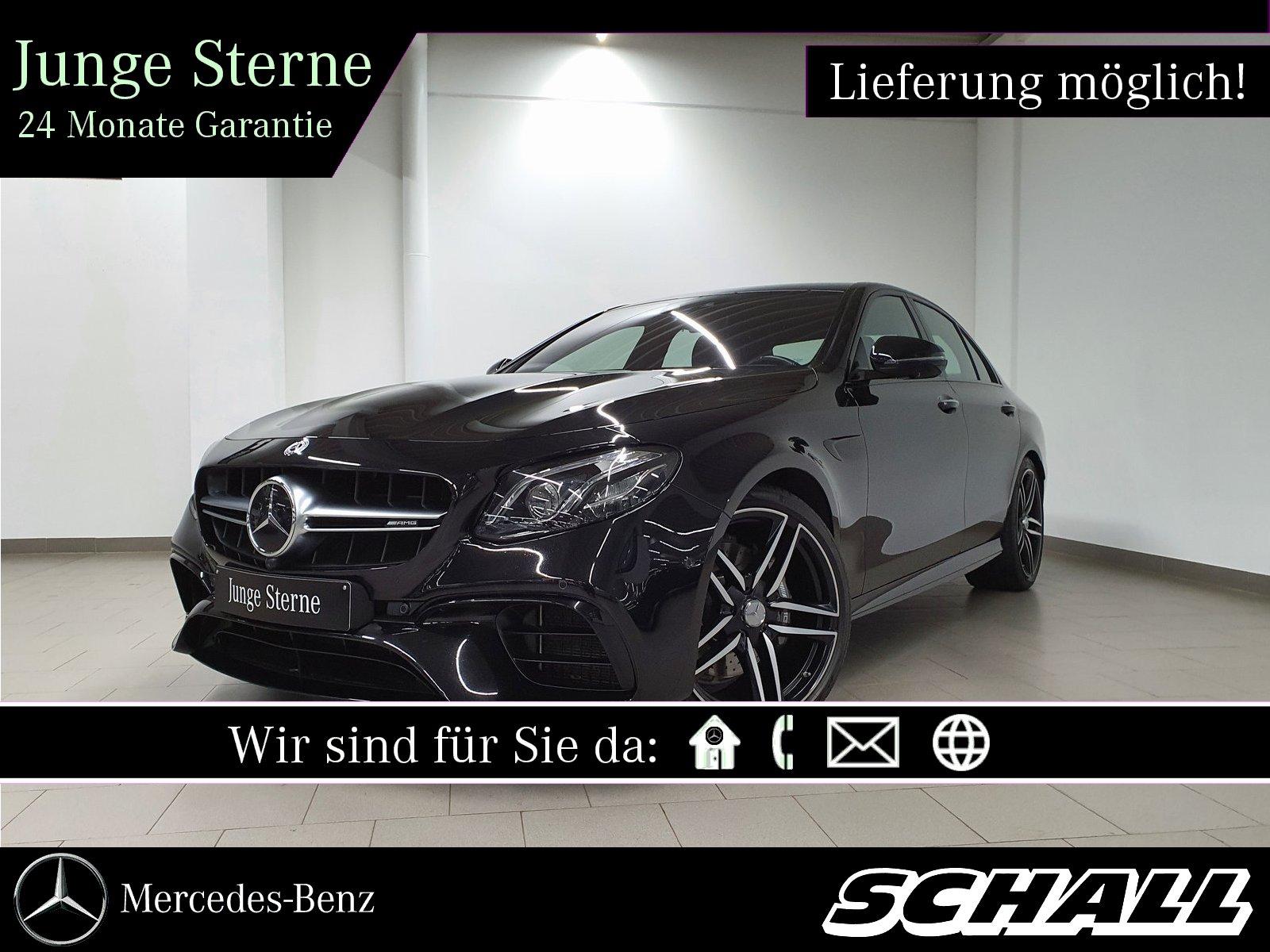 Mercedes-Benz E 63 4M AMG NIGHT+DISTR+WIDE+MULTIBEAM+360°+HEAD, Jahr 2018, Benzin