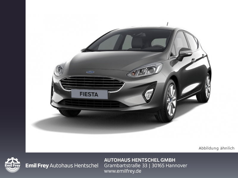 Ford Fiesta 1.0 EcoBoost S&S TITANIUM Paket Easy Driver II, Jahr 2018, Benzin