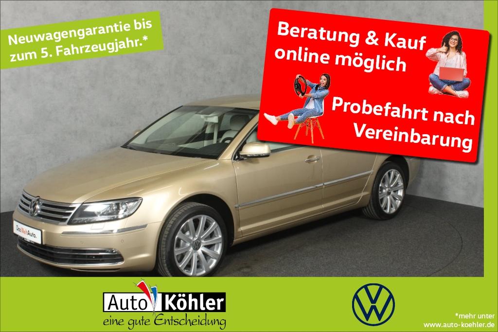 Volkswagen Phaeton TDi elektr. Gepäckraumklappe Climatronic, Jahr 2015, Diesel
