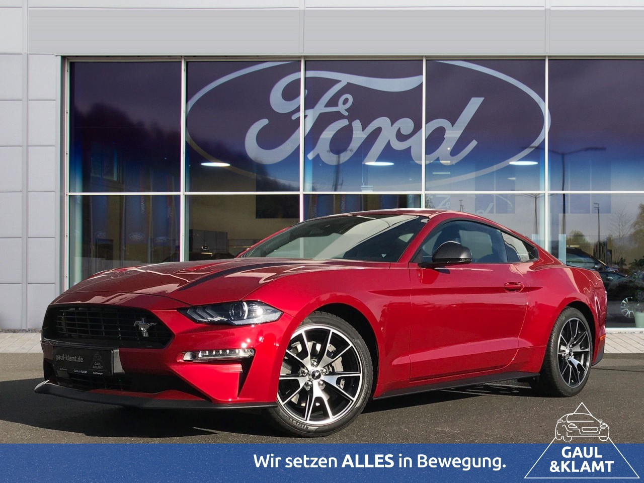 Ford Mustang 2.3 EcoBoost Fastback #Magne-Ride #DAB, Jahr 2020, Benzin