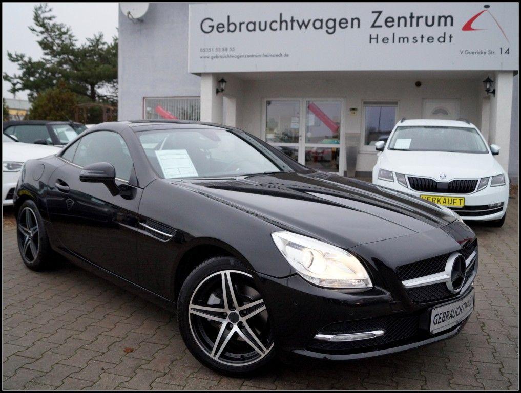 Mercedes-Benz SLK 200 BlueEFFICIENCY 7G-TRONIC LEDER NAVI LED, Jahr 2012, petrol