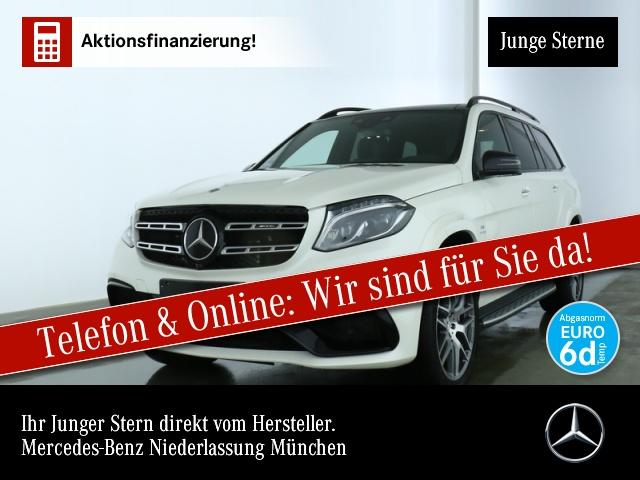 Mercedes-Benz GLS 63 AMG 4M Active Curve 360° Pano Distr., Jahr 2019, Benzin
