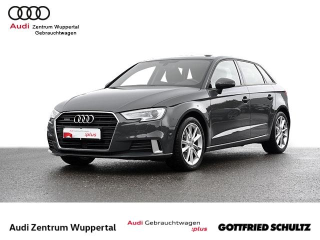 Audi A3 Sportback 2.0TFSI QUAT ACC CONNECT XEN SHZ NAV FSE PDC VO HI BT 17ZOLL Sport, Jahr 2018, Benzin