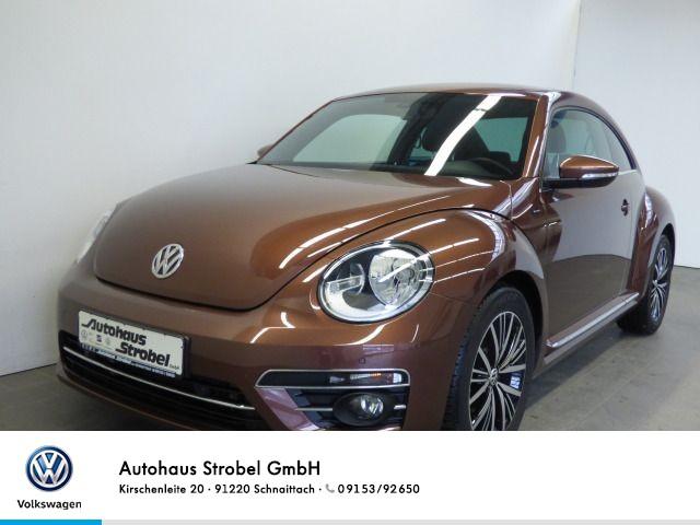 Volkswagen New Beetle 1.2 TSI Design Tempo Navi Parkp. Kamera Bluet. USB Sitzh. Klima ISOFIX, Jahr 2016, Benzin