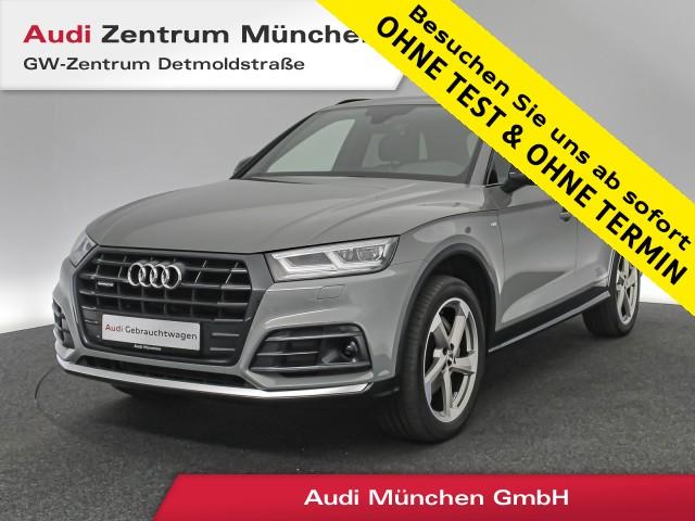 "Audi Q5 2.0 TDI qu. Sport S line Black Pano Virtual MatrixLED ACC Leder Navi 20"" S tronic, Jahr 2018, diesel"