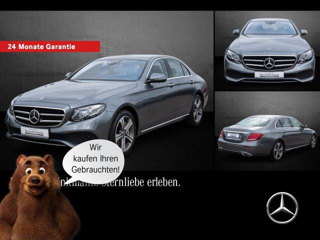 Mercedes-Benz E 400 d 4MATIC AVANTGARDE/AHK/NAVI/STHZ/360°, Jahr 2019, Diesel