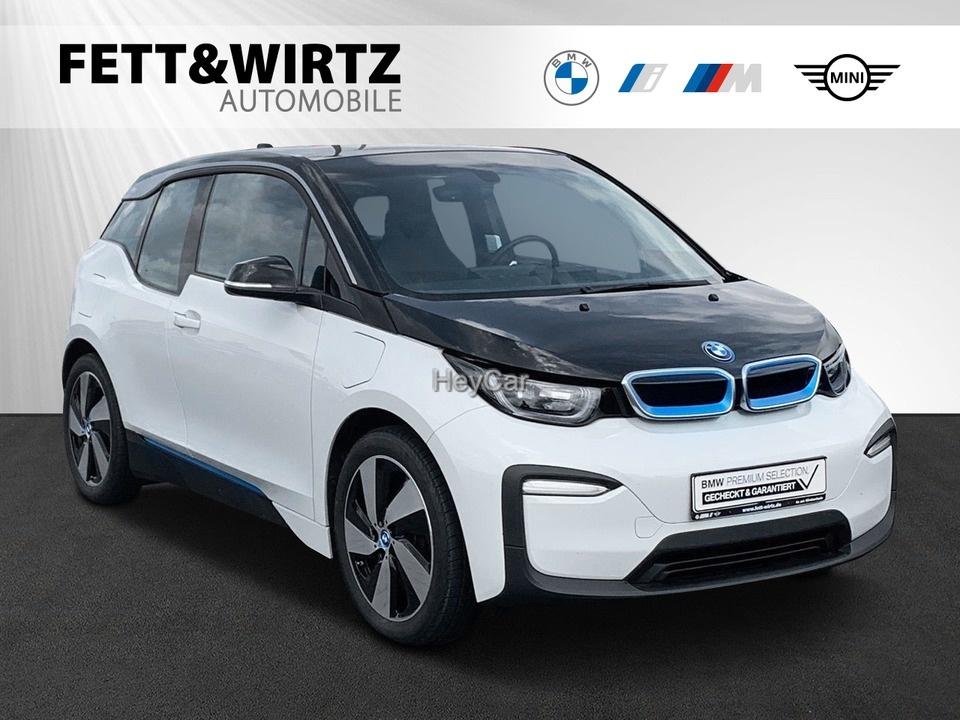 BMW i3 94Ah REX 19'' NaviProf. SHZ Schnell-Laden, Jahr 2019, Hybrid
