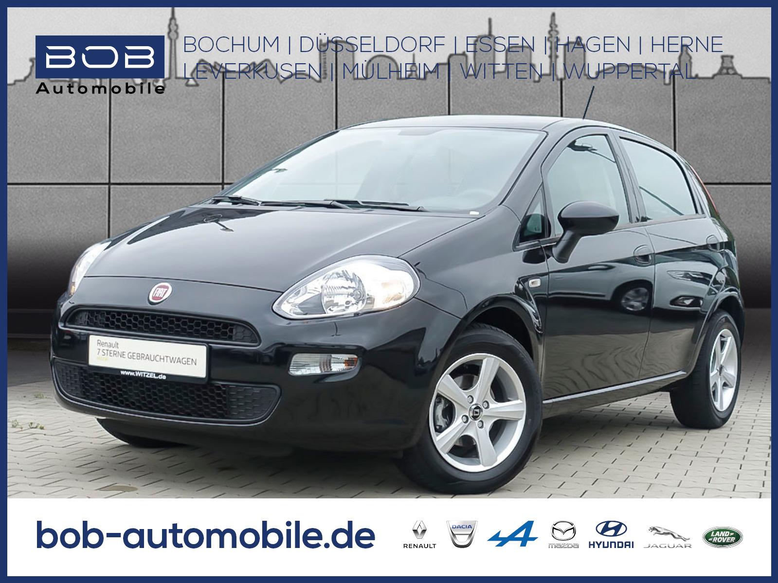 Fiat Punto 1.2 8V MyStyle PDC KLIMA ZV LM eFH MFL, Jahr 2016, Benzin