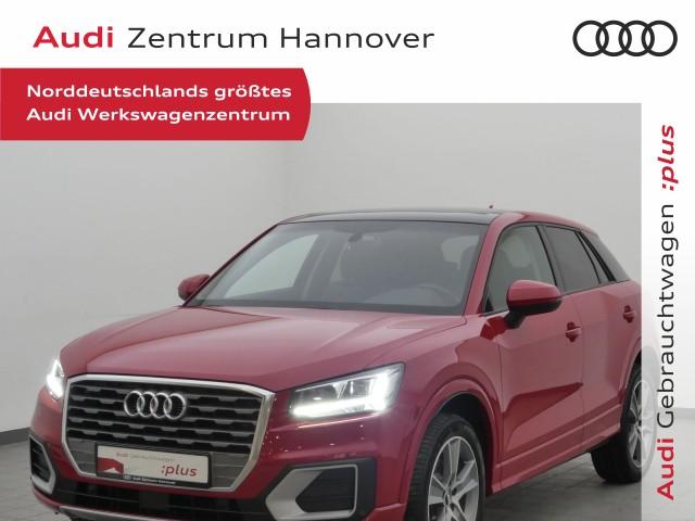 Audi Q2 1.4 TFSI Design Pano LED virtual Leder Navi, Jahr 2017, Benzin