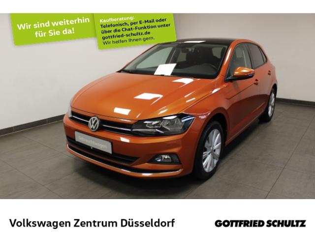 Volkswagen Polo 1.0 TSI Highline *Pano*virt Cockpit*ParkAssist*SHZ*, Jahr 2018, Benzin