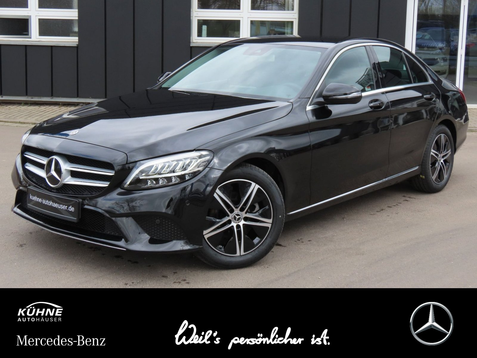 Mercedes-Benz C 180 Avantgarde 9G+Infotainment+Advanced+Komfor, Jahr 2020, Benzin
