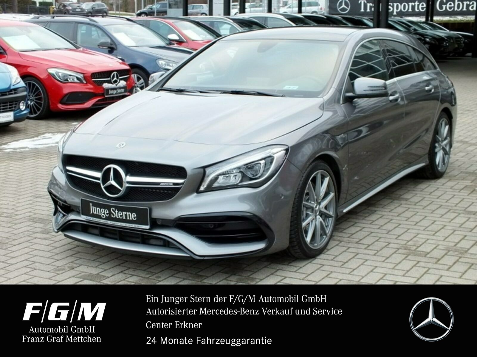 Mercedes-Benz CLA 45 4MATIC Shooting Brake Navi/Pano.-Dach/LED, Jahr 2017, Benzin