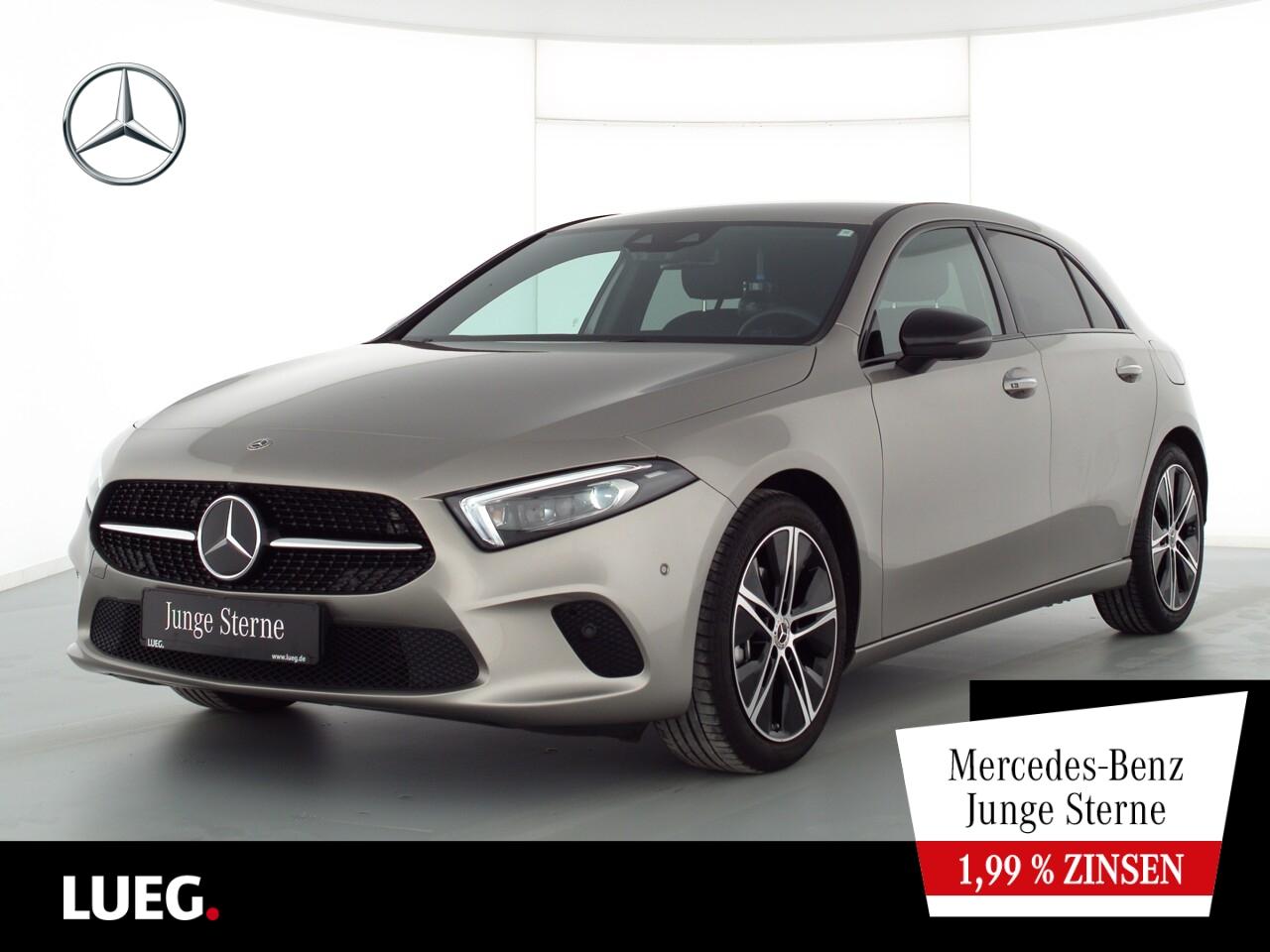 Mercedes-Benz A 200 Progressive+MBUX+NaviPrem+Mbeam+Distr+360°, Jahr 2020, Benzin