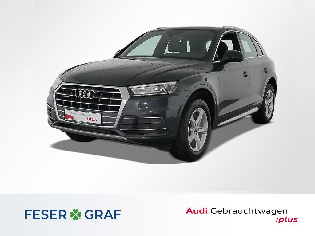 Audi Q5 Sport 2.0 TFSI qu S tronic Navi,Leder,Xenon, Jahr 2018, Benzin