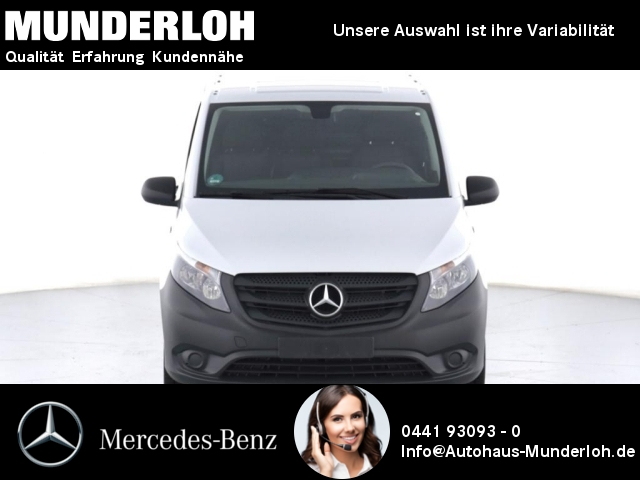 Mercedes-Benz eVito Kasten Lang Holzfußboden+Rückfahrk.+SitzHZ, Jahr 2019, Elektro