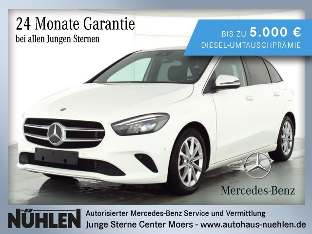 Mercedes-Benz B 180 Progressive+LED+Sitzhzg+Park-Assist.+Klima, Jahr 2019, Benzin