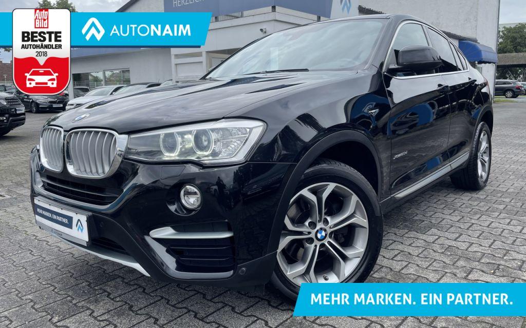BMW X4 xDrive20d Aut. xLine|NAVI|AHK|SHZ|T-LEDER, Jahr 2015, Diesel