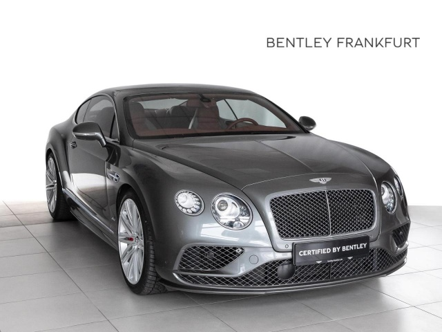 Bentley Continental GT Speed von BENTLEY FRANKFURT Navi, Jahr 2015, Benzin