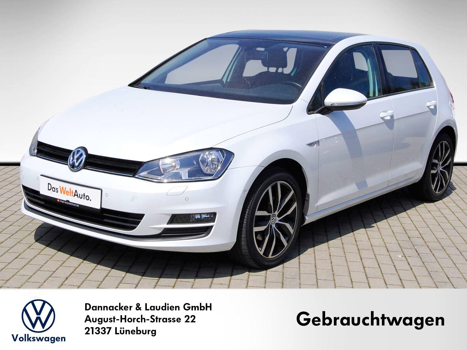 Volkswagen Golf VII 1.2 TSI Cup BMT Alu Navi Klima Panorama AHK Sitzh., Jahr 2014, Benzin