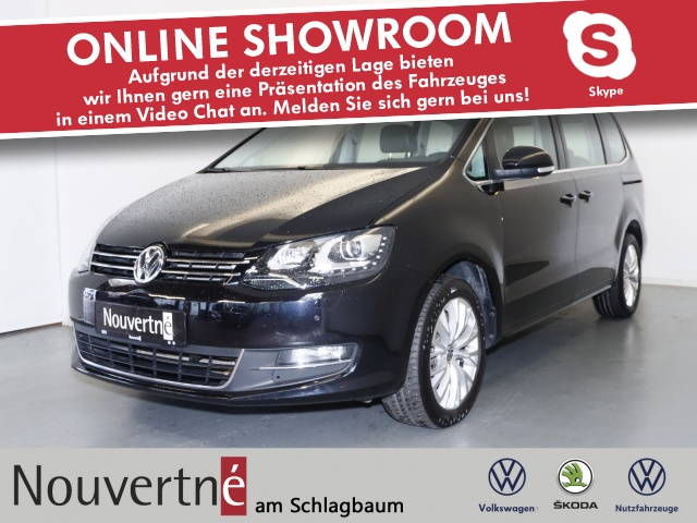 Volkswagen Sharan 2.0 TDI 4Motion Highline + Navi + Xenon + e, Jahr 2014, Diesel