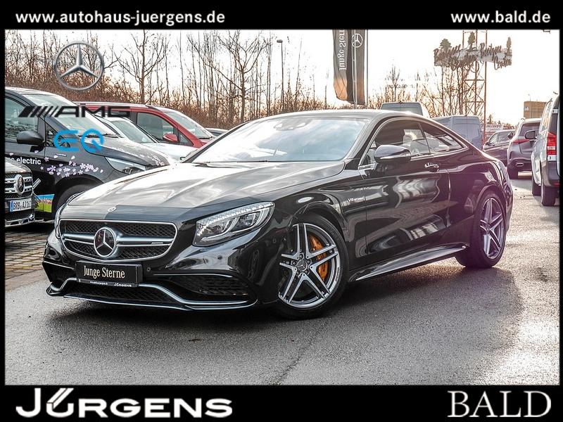 Mercedes-Benz S 63 AMG 4M Coupé Keramik/Burm3D/Exklusiv/Stdhz, Jahr 2017, Benzin