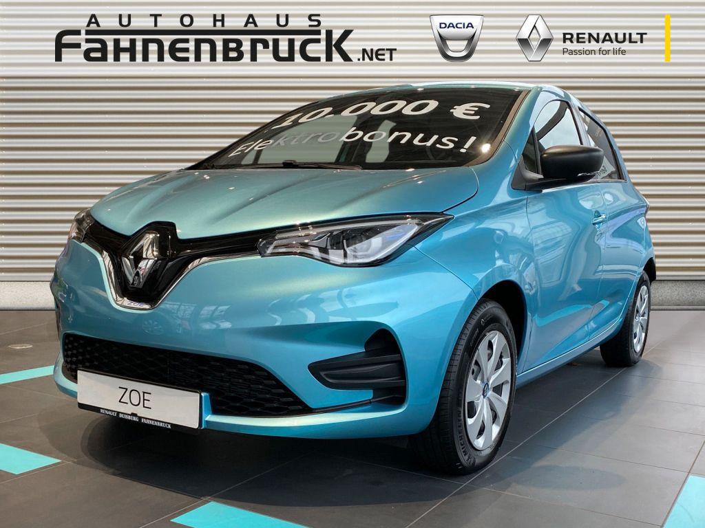 Renault ZOE (Batteriemiete) Z.E. 50 LIFE, Jahr 2020, Elektro