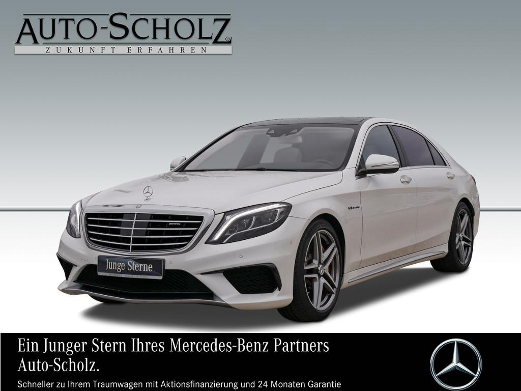 Mercedes-Benz S 63 AMG 4MA L +PANO+STANDHZG+DISTRONIC LED, Jahr 2016, petrol