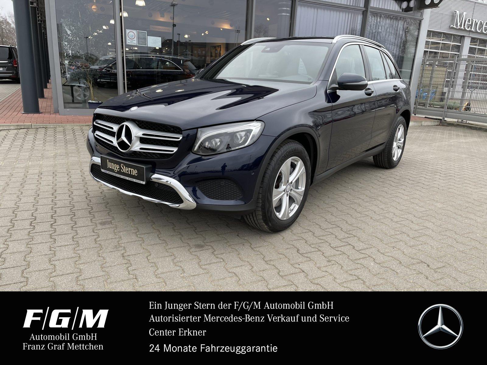 Mercedes-Benz GLC 220 d 4M EXCLUSIVE/Comand/PTS/LED-ILS/AHK BC, Jahr 2016, Diesel