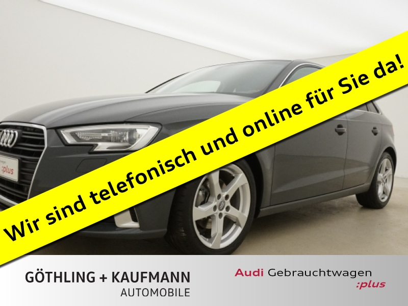 Audi A3 Sportback 1.5 TFSI Sport S tro. 110 kW*Xenon+, Jahr 2017, Benzin