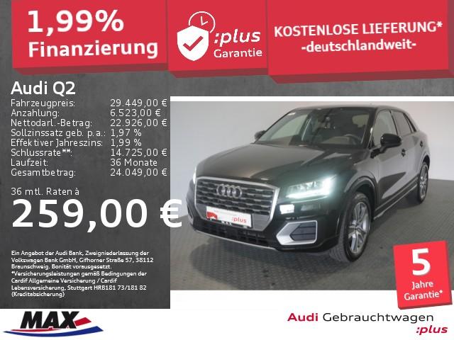 Audi Q2 35 TFSI SPORT LED+NAVI+PDC+ALU18+TEMPOMAT+DAB, Jahr 2020, Benzin