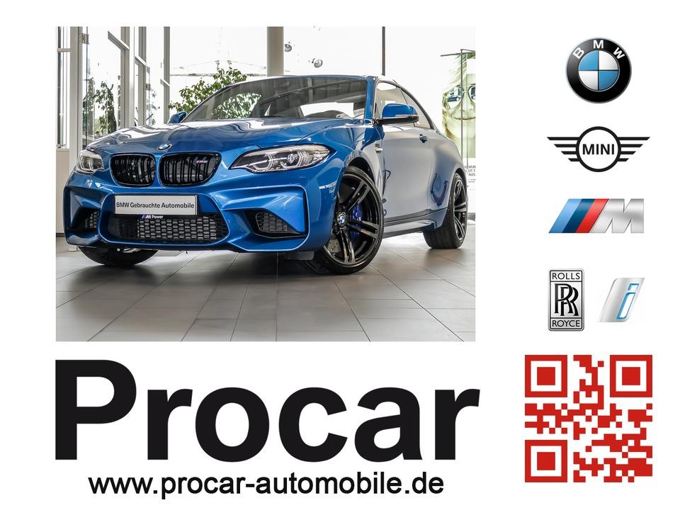 BMW M2 Coupe // M DKG Memory H&K Speed Limit, Jahr 2018, petrol