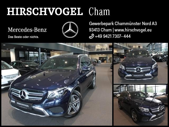 Mercedes-Benz GLC 220 d 4M EXCLUSIVE/AMG-Line+AHK+KEYLESS+Navi, Jahr 2017, Diesel