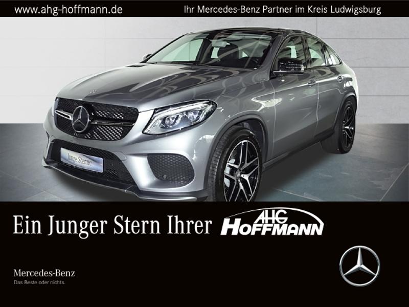 Mercedes-Benz GLE 450 AMG 4M Coupé Fond-tv+Burmester 3D+Comand, Jahr 2016, Benzin