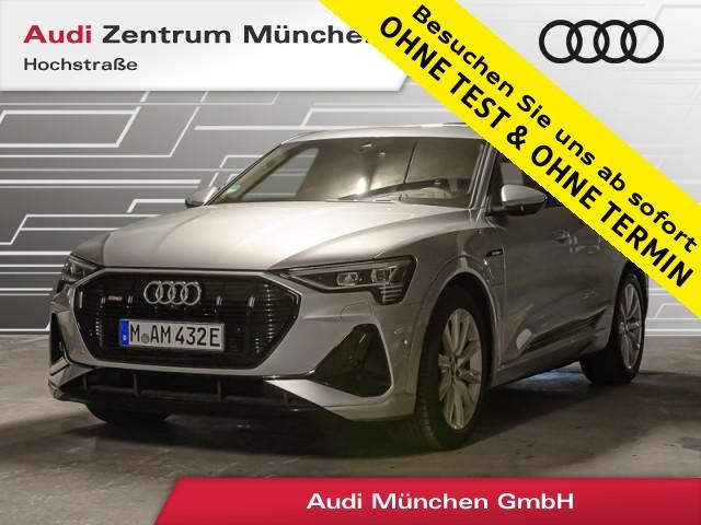 "Audi e-tron Sportback 55 qu. S line B&O HUD Pano Luftfw. Virtual MatrixLED 20"", Jahr 2021, electric"