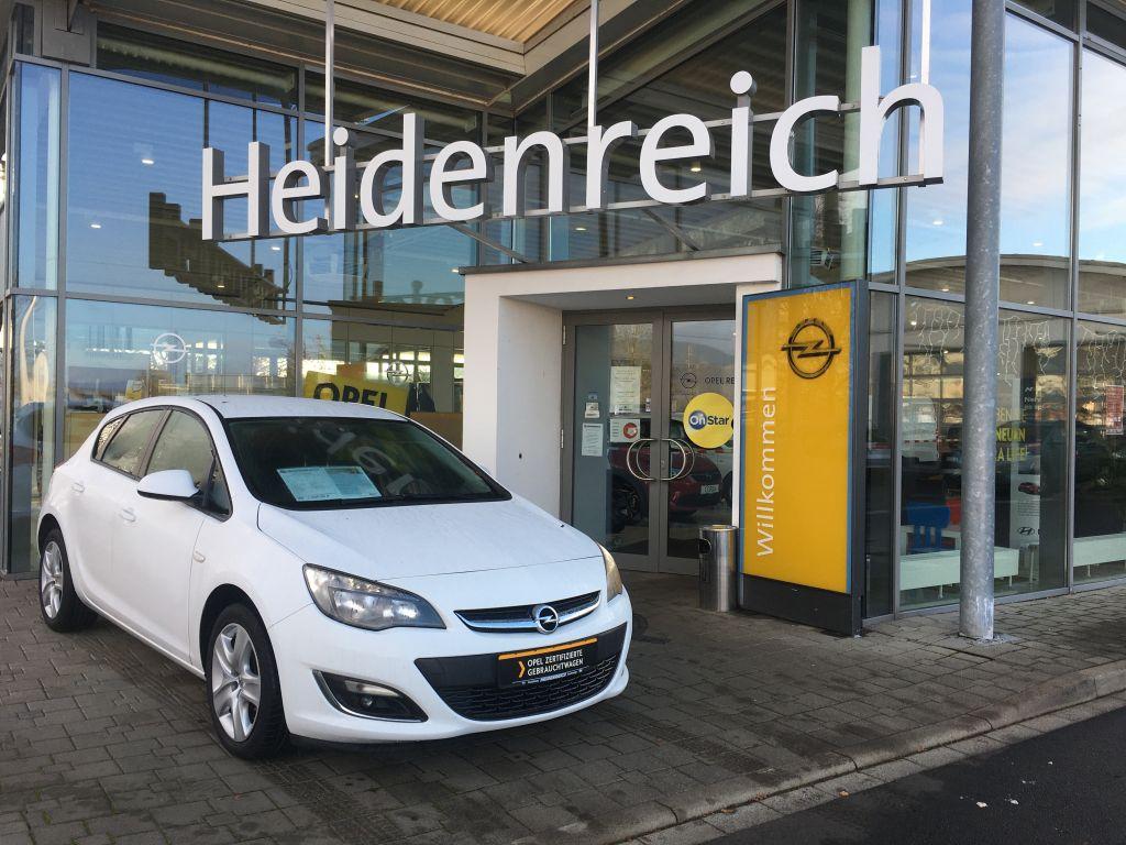 Opel Astra J 1.4 SHZ PDC ink. Garantie, Jahr 2013, Benzin