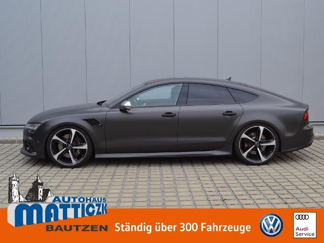 Audi RS7 Sportback 4.0 TFSI 700 PS quattro VOLL/NP:16, Jahr 2015, Benzin