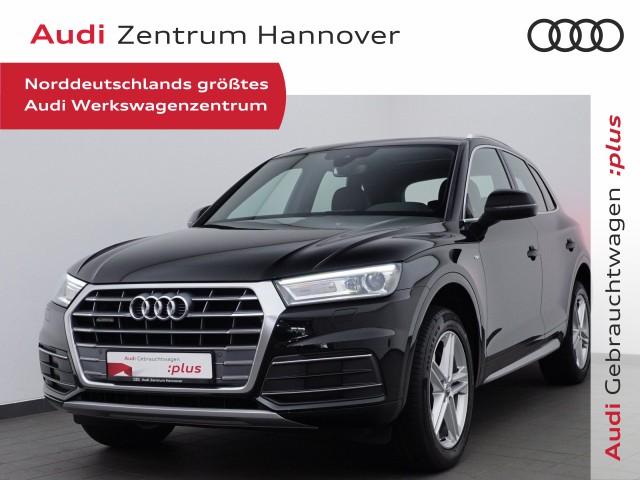 Audi Q5 2.0 TDI S line, Pano, LED, Teilleder, Navi, 19 Zoll, Jahr 2020, Diesel