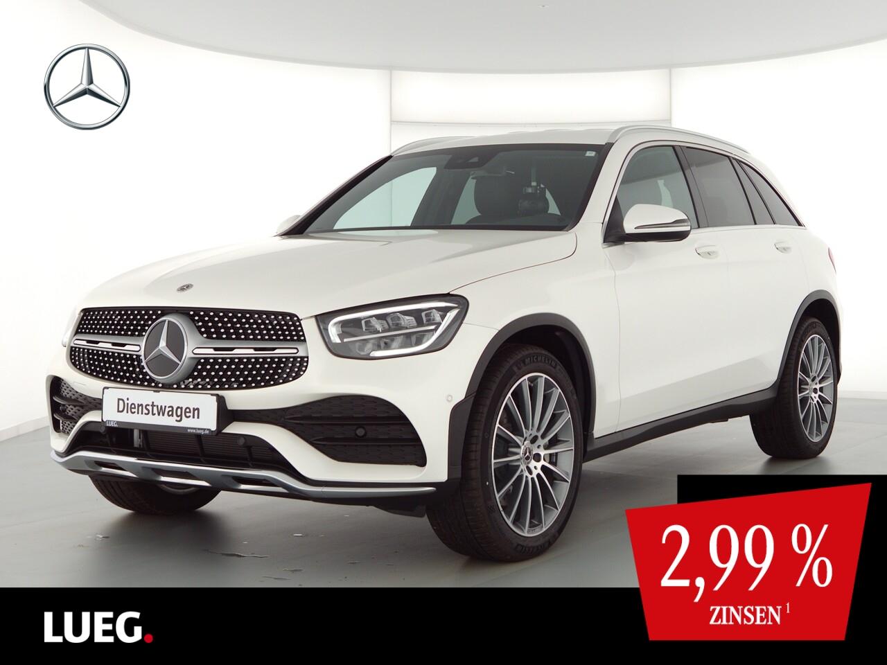 Mercedes-Benz GLC 300 d 4M AMG+LED+AHK+Kamera+PDC, Jahr, Diesel