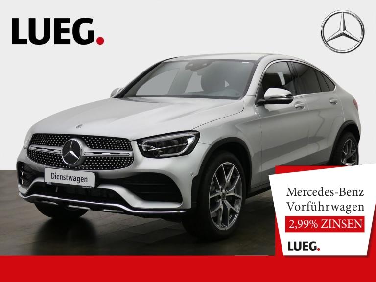 Mercedes-Benz GLC 200 4M Coupé AMG+20''+AHK+LED+MBUX+KAMERA+PT, Jahr 2020, Benzin