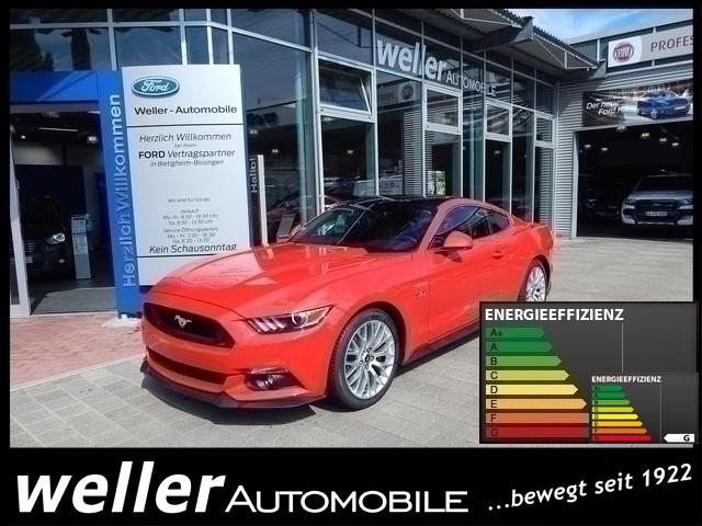 Ford Mustang GT 5.0 Ti-VCT V8 Recaro Automatik Navi Kontrast-Dach-Schwarz, Jahr 2017, Benzin