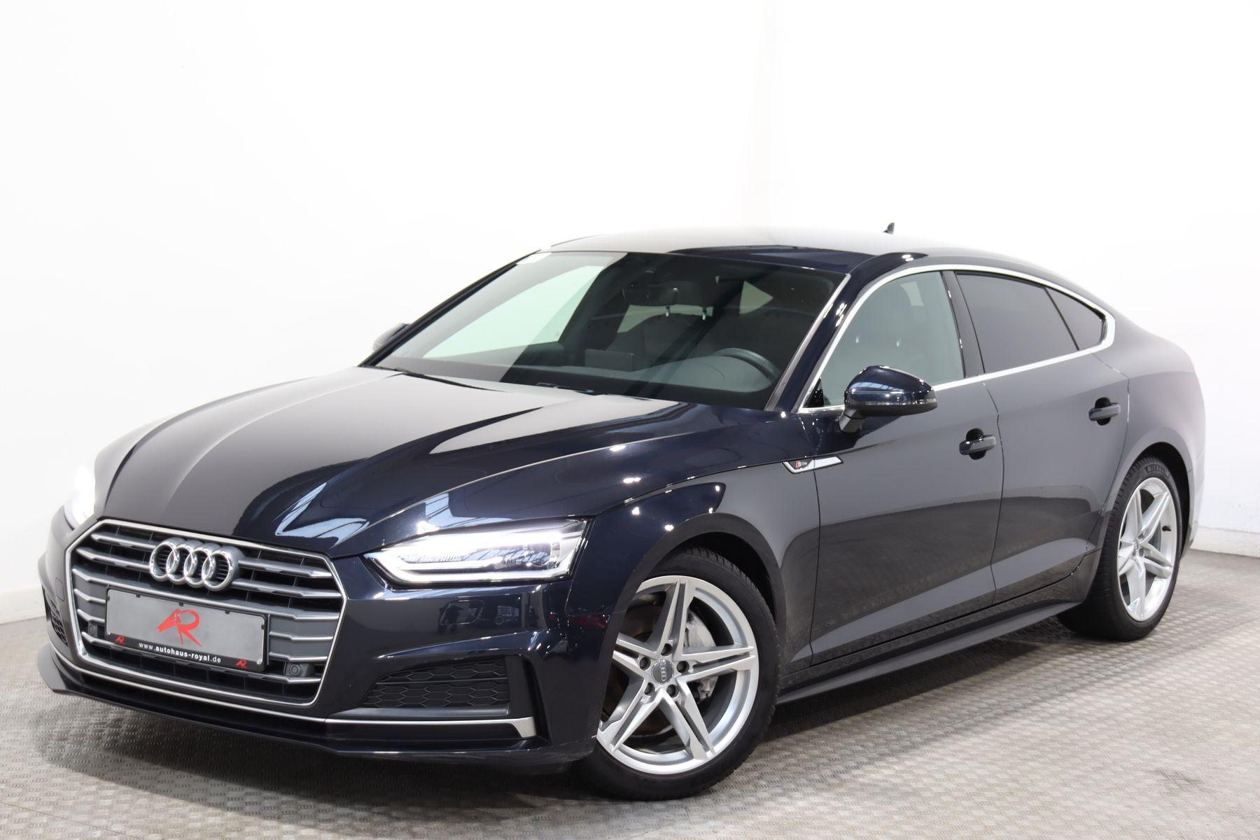 Audi A5 SB 2.0 TDI 3x S LINE SPORT KEYLESS,KAMERA,AHK, Jahr 2018, Diesel