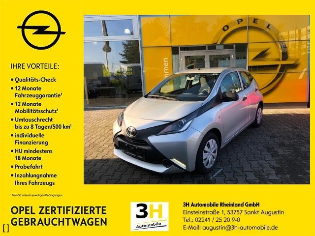 Toyota Aygo 5 Türer*Klima*Freisprecheinrichtung*, Jahr 2015, petrol