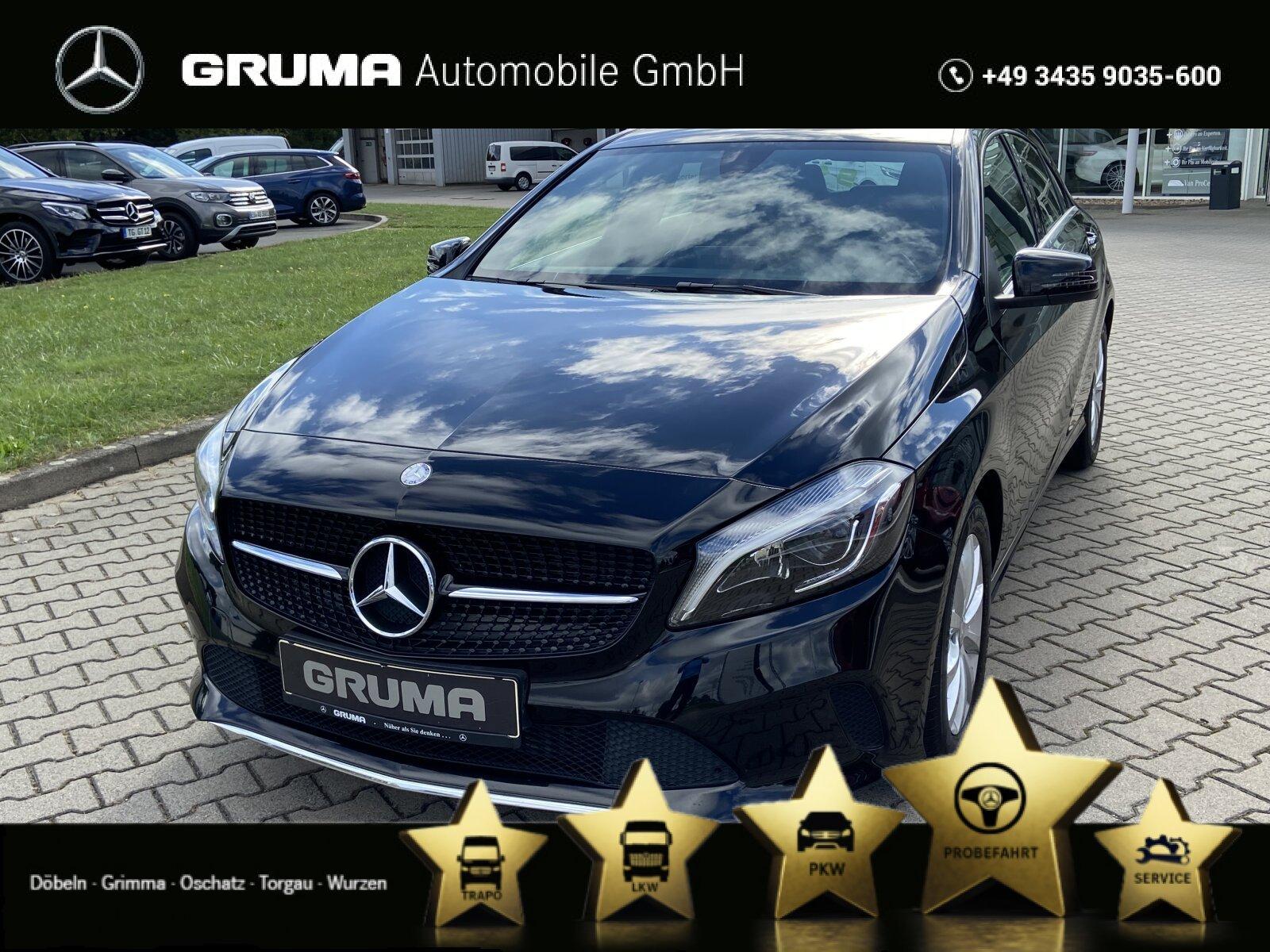Mercedes-Benz A 160 Style KAMERA+LED+SITZHEIZUNG+NOTRUF+KLIMA, Jahr 2015, Benzin