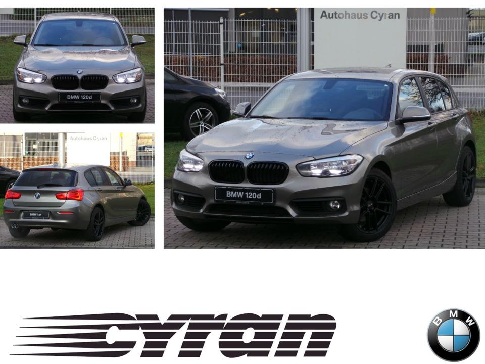 BMW 120d Advantage 17''LM AHK PDC Sitzhzg. Vorn RFT, Jahr 2015, diesel